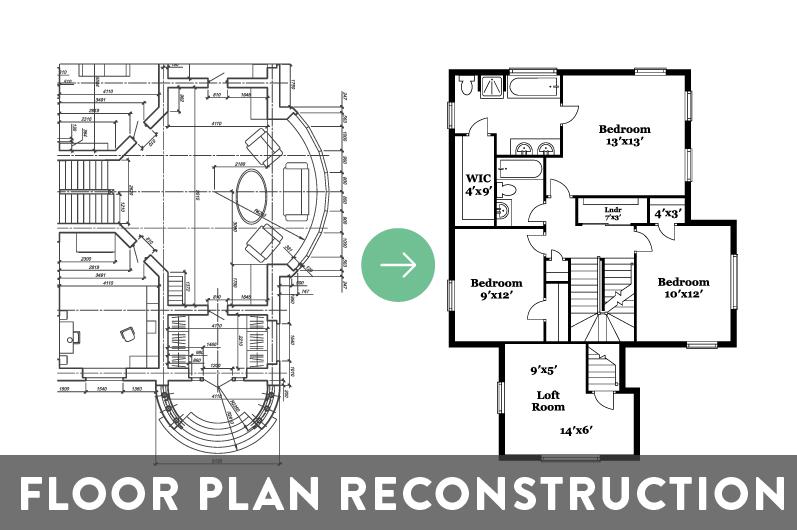 Floor Plan Reconstruction Product Image