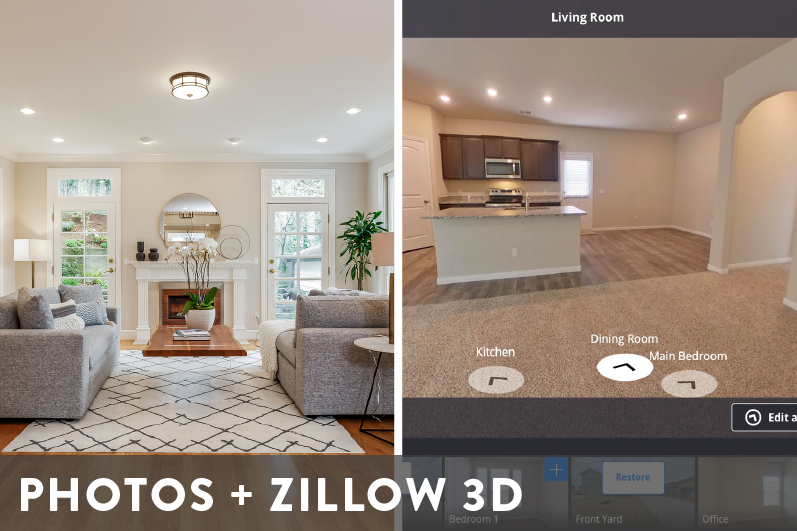 Professional Photography and Zillow 3D Package Image