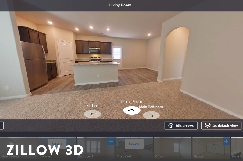 Zillow 3D Product Image