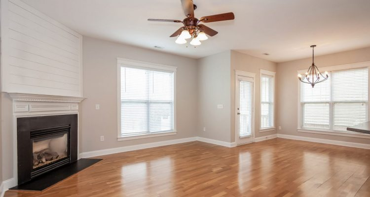 Photography and Floor Plans Vacant Living Room Image