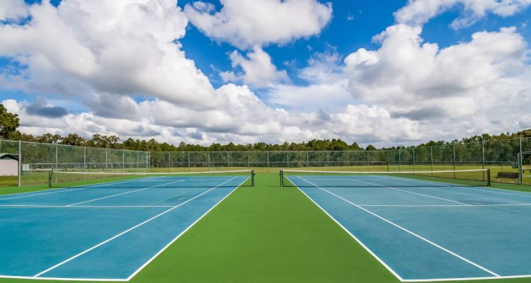 Photography and Floor Plans Tennis Court Amenities Image