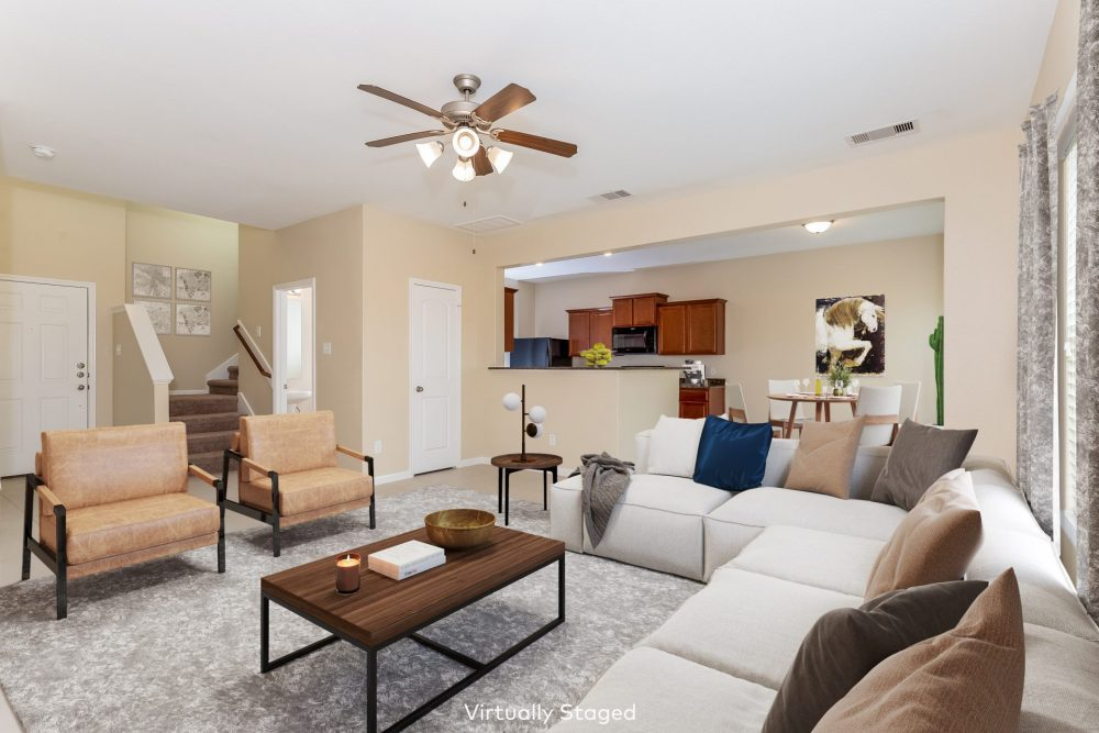 Virtual Staging Real Estate Photography Editing After
