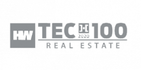 PlanOmatic HousingWire Tech 100 Award Image