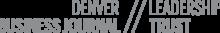 Denver Business Journal Leadership Trust Membership Logo