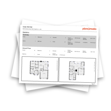 Property Detail Reports Mockup