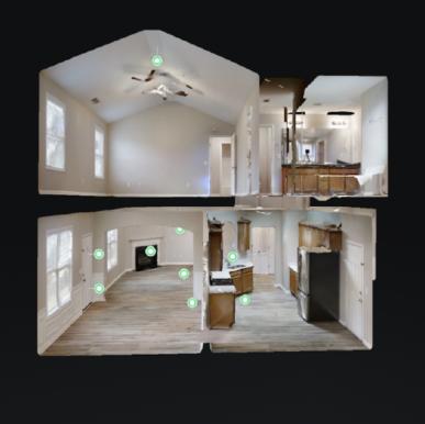 Matterport Dollhouse Screenshot by PlanOmatic
